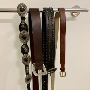 🙈MIX&MATCH🙈 vintage S to M belts for 1 price!